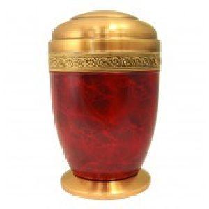 188275 Designer Brass Metal Cremation Urn