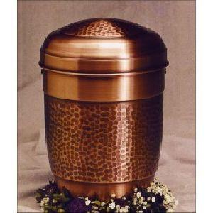 188280 Designer Brass Metal Cremation Urn