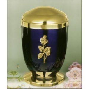 188291 Designer Brass Metal Cremation Urn