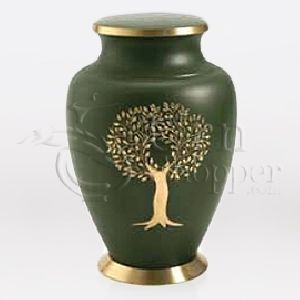 Aria Tree of Life Brass Metal Cremation Urn