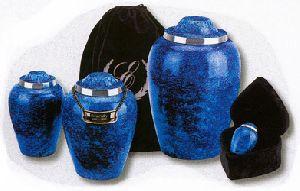 Blue Alloy Cobalt Urns