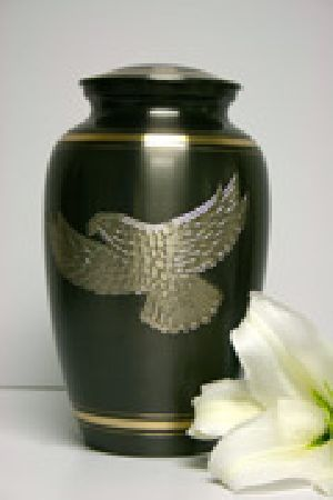 Brass Ashes Urn