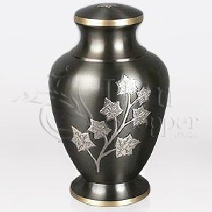Eaton Brass Metal Cremation Urn