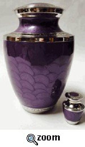 Lavender Pearl Keepsake Urns