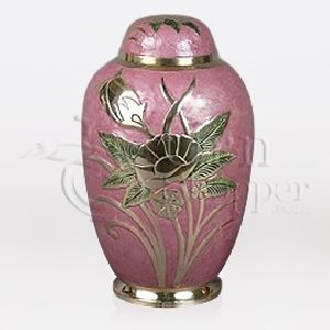 LeFleur Brass Metal Cremation Urn