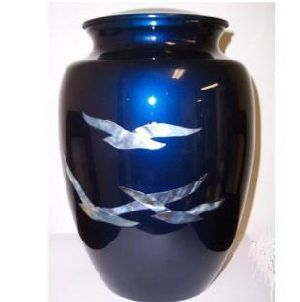 Mother of Pearl Going Home Urns