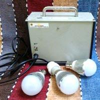 Solar DC Home Lighting System