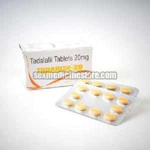 Tadarise 20 mg Tablets