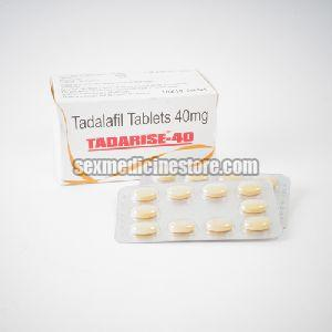 Tadarise 40 Mg Tablets