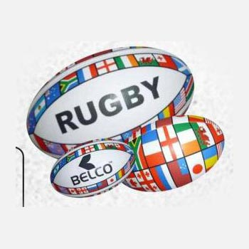 Flags Rugby Balls