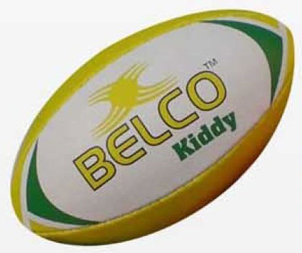 Mini Rubber Rugby Ball