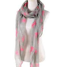 cotton voile scarf