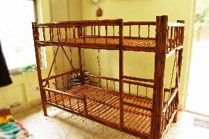 Bamboo Bunk Bed 01