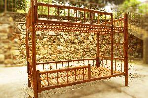 Bamboo Bunk Bed 02