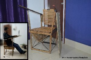 Bamboo Study Chair