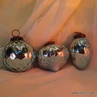 Glass Christmas Lanterns