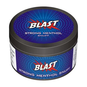 25 gm Blast Strong Menthol Non Herbal Snuff