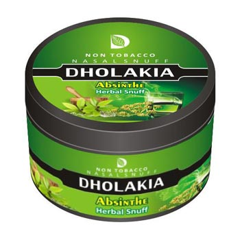 25 gm Dholakia Absinthe Herbal Snuff