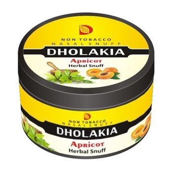 25 gm Dholakia Apricot Herbal Snuff