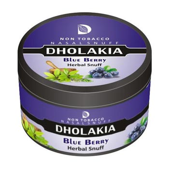 25 gm Dholakia Blueberry Herbal Snuff