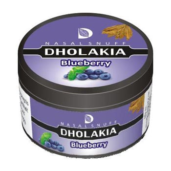 25 gm Dholakia Blueberry Non Herbal Snuff