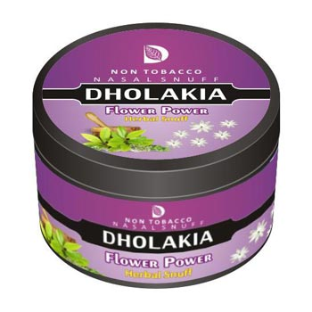 25 gm Dholakia Flower Power Herbal Snuff