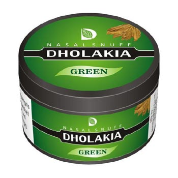 25 gm Dholakia Green Non Herbal Snuff