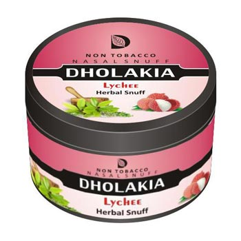 25 gm Dholakia Lychee Herbal Snuff