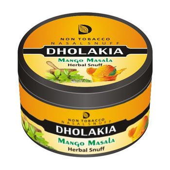 25 gm Dholakia Mango Masala Herbal Snuff