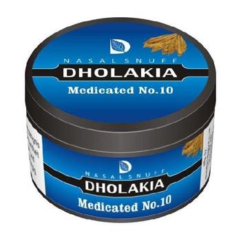 25 gm Dholakia Medicated No.10 Non Herbal Snuff