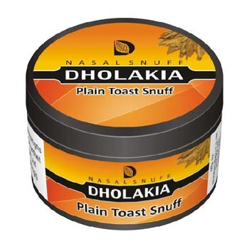 25 gm Dholakia Plain Toast Non Herbal Snuff