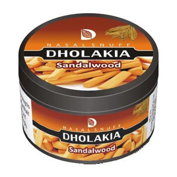 25 gm Dholakia Sandalwood Non Herbal Snuff