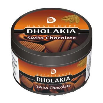 25 gm Dholakia Swiss Chocolate Non Herbal Snuff
