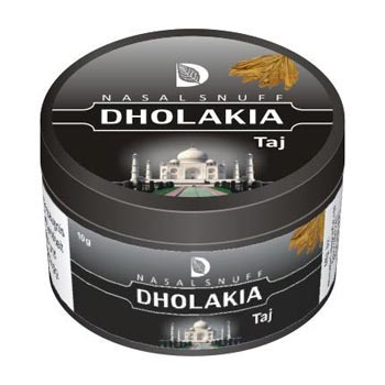 25 gm Dholakia Taj Non Herbal Snuff
