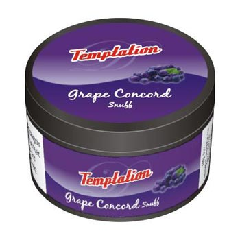 25 gm Temptation Grape Concord Non Herbal Snuff