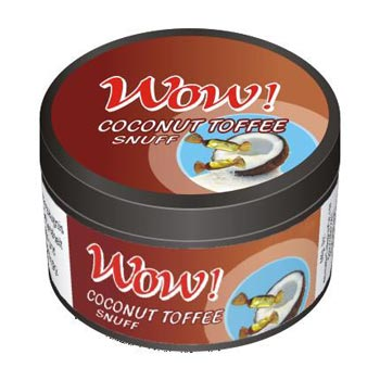 25 gm Wow Coconut Toffee Non Herbal Snuff
