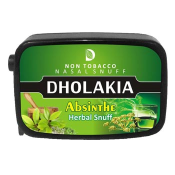 9 gm Dholakia Absinthe Herbal Snuff
