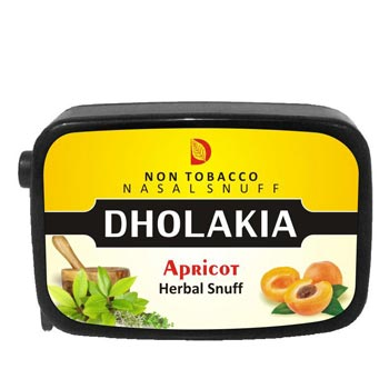 9 gm Dholakia Apricot Herbal Snuff