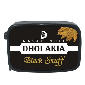9 gm Dholakia Black Non Herbal Snuff