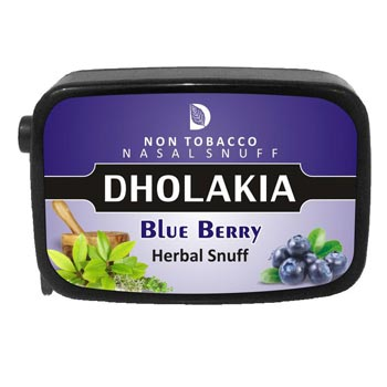 9 gm Dholakia Blueberry Herbal Snuff