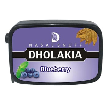 9 gm Dholakia Blueberry Non Herbal Snuff