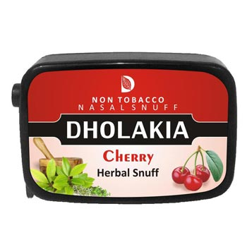 9 gm Dholakia Cherry Herbal Snuff