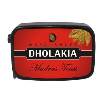 9 gm Dholakia Madras Toast Non Herbal Snuff