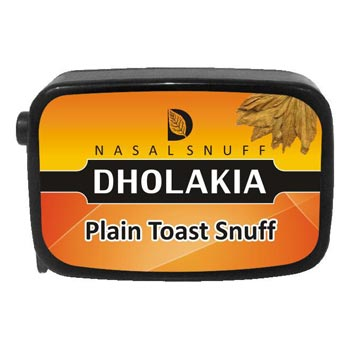 9 gm Dholakia Plain Toast Non Herbal Snuff