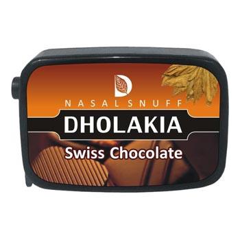 9 gm Dholakia Swiss Chocolate Non Herbal Snuff