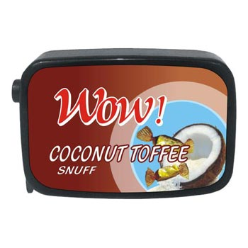 9 gm Wow Coconut Toffee Non Herbal Snuff