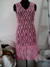 Crochet One Piece Dress 11
