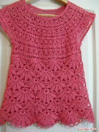 Crochet Tops 25