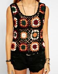 Crochet Tops 34