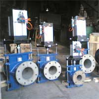 Pneumatic Operated Pinch Valves